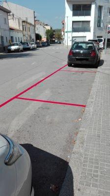 Zona vermella d'aparcament