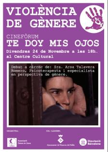 """Cinefòrum: """"Te doy mis ojos"""""""