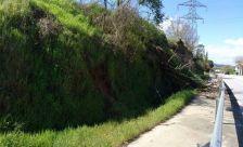 Camí que uneix el nucli amb les Roquetes, Barri Rodes i Barri Bosc Ruscalleda