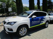 Cotxe nou de la policia local