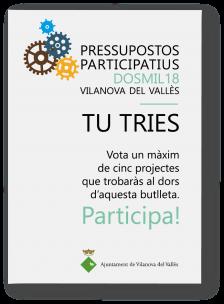 Butlleta pressupostos participatius 2018