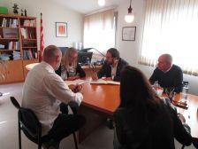Visita del delegat del Govern