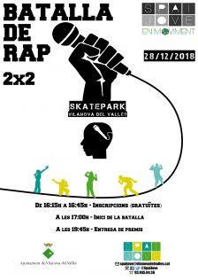 Cartell de Batalla de rap