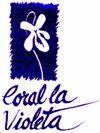Logo Societat coral 'La Violeta'